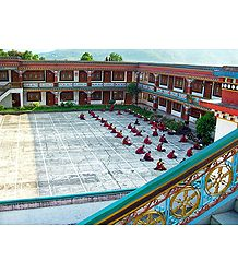 Ranka Monastery - East Sikkim - Photo Print