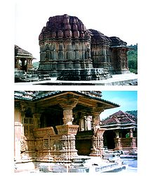 Saas Bahu Temple, Rajasthan - Set of 2 Photo Prints