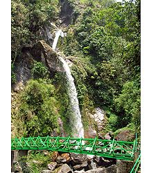 Seven Sister Waterfalls - North Sikkim - Photo Print