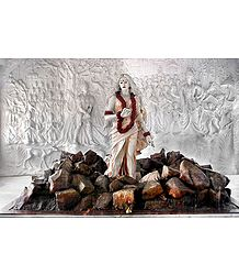 Agnipariksha of Sita - Photographic Print