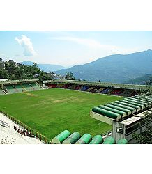 Palzor Stadium,Gangtok - Sikkim - Photo Print