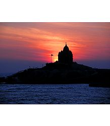 Sunrise at Kanyakumari - Tamil Nadu, india