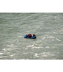 River Rafting on River Tista - Photo Print