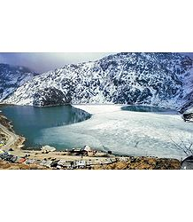 Tsongmo Lake, Sikkim - Poster