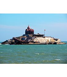 Vivekananda Rock Temple - Kanyakumari, Tamil Nadu, India