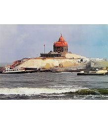 Swami Vivekananda Rock Temple at Kanyakumari - Tamil Nadu, India