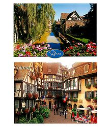 Colmar, France - Set of 2 Postcards