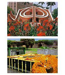 Rajghat and Jantar Mantar Postcards