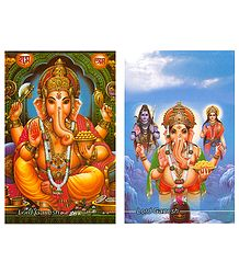 Ganesha Postcards