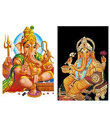 Shop Lord Ganapati Postcards