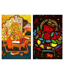 Lord Ganapati Postcards