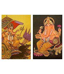 Shop Online Lord Ganesha Postcards