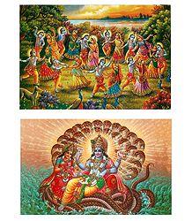 Hindu Deity Postcards