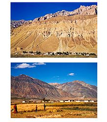 Zanskar Valley, Ladakh - Set of 2 Postcards