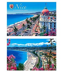 Nice, France - Set of 2 Postcards
