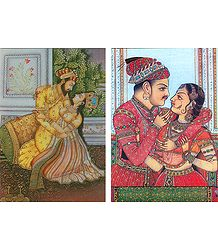 A Prince with his Consort - (Set of Two)