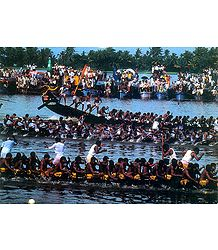 Boat Race - Kerala, India