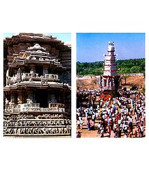 Belur Temple and Sri Ranganatha Swamy Car Festival