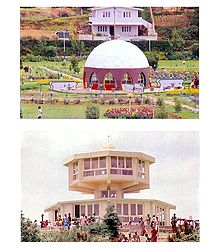 Children's Park and Telescope House, Ooty - Set of 2 Postcards