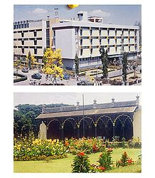 TL Museum and Tippu's Palace, Bangalore  - Set of 2 Postcards