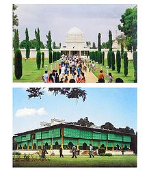 Palace and Gumbaz, Srirangapatna  - Set of 2 Postcards