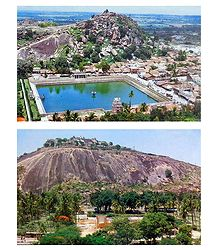 Saravanbelagola - Set of 2 Postcards
