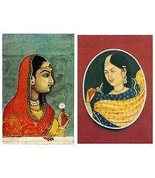 Buy Online Rajput Princess Postcards