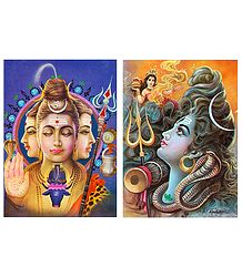 Shiva Postcards