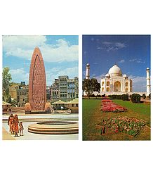 Monuments of India Postcards