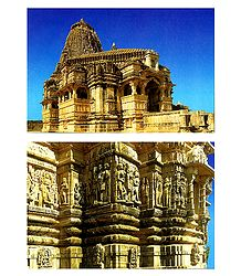 Kumbha Shyam Temple and Wall Friezes in Chittorgarh