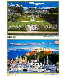 Salzburg, Austria - Set of 2 Postcards