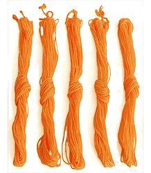 Saffron Yajnapaveet - Hindu Sacred Thread