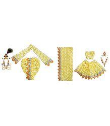 Dresses for 9 Inches Radha Krishna Idols