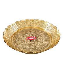 Shop Online Brass Puja Thali