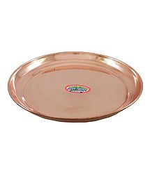 Shop Online Copper Puja Thali