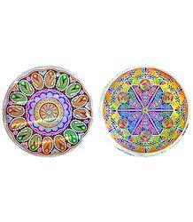 Glazed Paper Sticker Rangoli
