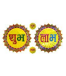 Sticker Shubh Labh
