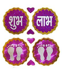 Sticker Charan and Shubh Labh