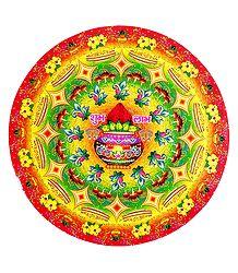 Paper Sticker Rangoli