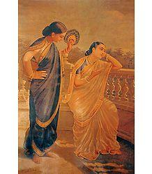Damayanti and Her Friend