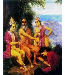 Buy Raja Ravi Varma Painting Reprint