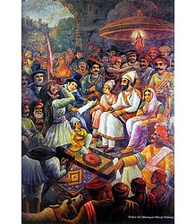 Coronation of Shivaji