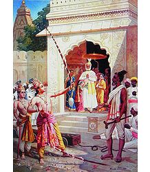 Buy Raja Ravi Varma Painting Reprint