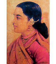 Tara Varini - Ravi Varma Reprint