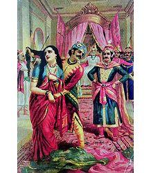 Draupadi Vastraharan - Poster