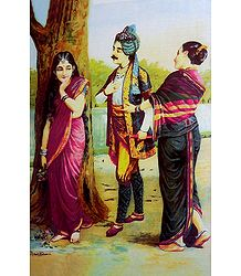 Dushyanta and Shakuntala - Love at First Sight