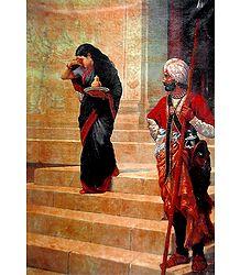 Buy Online Raja Ravi Varma Painting Reprint