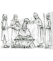 Guru Arjan Dev is Tortured - from the Book 'Nanak - an Introduction'