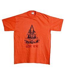 Shiva Print T-Shirt