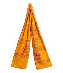 Angavastram, with Jai Sri Ram Print